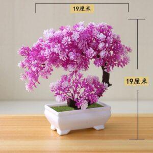 Artificial Plants Potted Bonsai Small Grass Tree Flowers Plants Fake Flowers Potted Ornaments For Home Garden 11.jpg 640x640 11