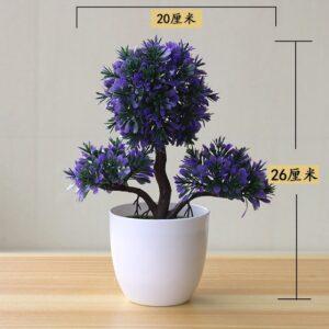 Artificial Plants Potted Bonsai Small Grass Tree Flowers Plants Fake Flowers Potted Ornaments For Home Garden 3.jpg 640x640 3