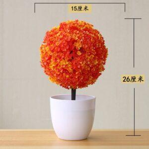 Artificial Plants Potted Bonsai Small Grass Tree Flowers Plants Fake Flowers Potted Ornaments For Home Garden 4.jpg 640x640 4