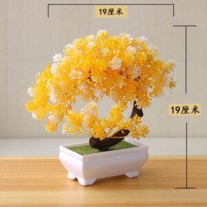 Artificial Plants Potted Bonsai Small Grass Tree Flowers Plants Fake Flowers Potted Ornaments For Home Garden 5.jpg 640x640 5