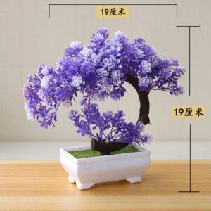 Artificial Plants Potted Bonsai Small Grass Tree Flowers Plants Fake Flowers Potted Ornaments For Home Garden 6.jpg 640x640 6