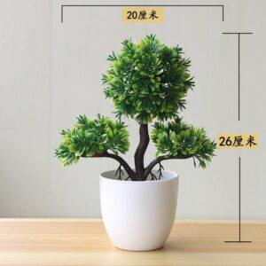Artificial Plants Potted Bonsai Small Grass Tree Flowers Plants Fake Flowers Potted Ornaments For Home Garden 8.jpg 640x640 8