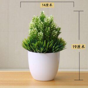 Artificial Plants Potted Bonsai Small Grass Tree Flowers Plants Fake Flowers Potted Ornaments For Home Garden 9.jpg 640x640 9
