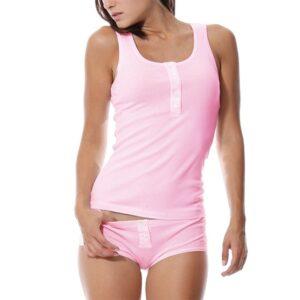 Pjamas Set for Women Femme Cotton Pijamas Sexy Top and Shorts Sleepwear Sleeveless Pajama Ladies Lingerie 1.jpg 640x640 1