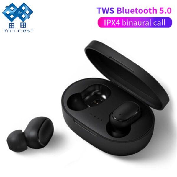Wireless Headphones Bluetooth Earphone Handsfree 5 0 TWS Headset with Mic PK i9S i12 for Redmi 1