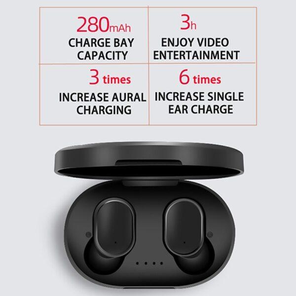Wireless Headphones Bluetooth Earphone Handsfree 5 0 TWS Headset with Mic PK i9S i12 for Redmi 2
