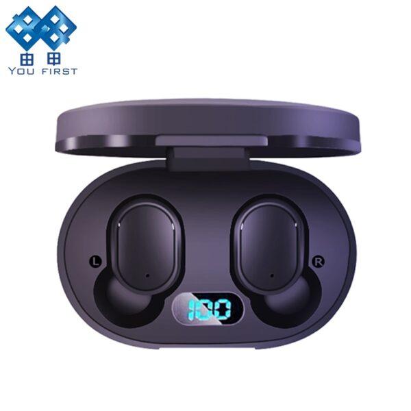 Wireless Headphones Bluetooth Earphone Handsfree 5 0 TWS Headset with Mic PK i9S i12 for Redmi