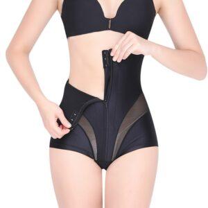 Women High Waist Shaping Panties Tummy Control Body Shaper Slimming Underwear Butt Lifter Seamless Panty Shaper 2.jpg 640x640 2