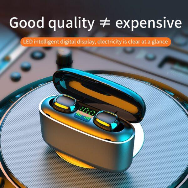 G5S TWS Mini Bluetooth earphones Business Earpieces waterproof IPX7 sports earbuds For xiaomi huawei iphone wireless 5