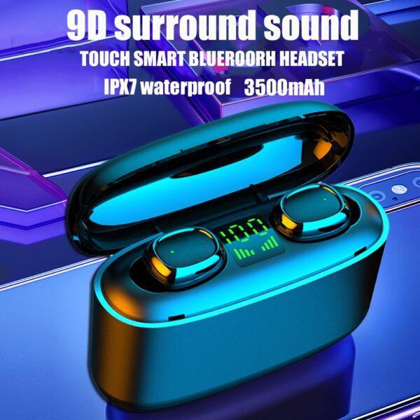 G5S TWS Mini Bluetooth earphones Business Earpieces waterproof IPX7 sports earbuds For xiaomi huawei iphone wireless