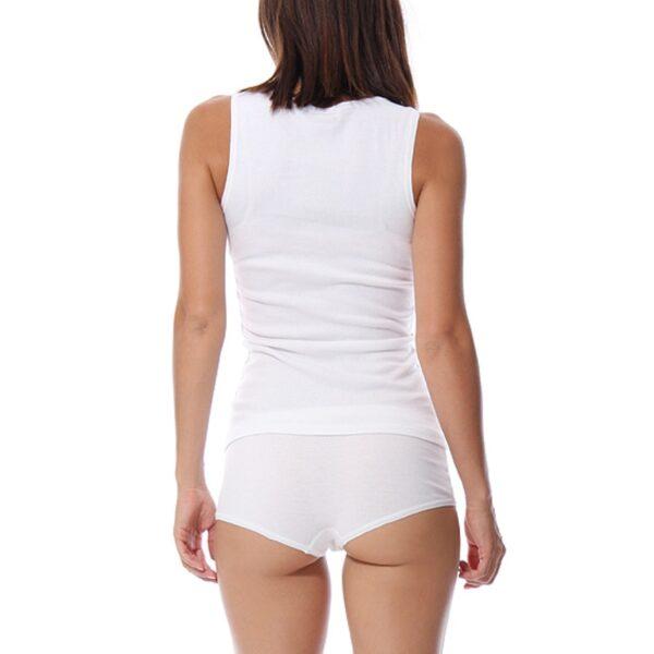 Pjamas Set for Women Femme Cotton Pijamas Sexy Top and Shorts Sleepwear Sleeveless Pajama Ladies Lingerie 2