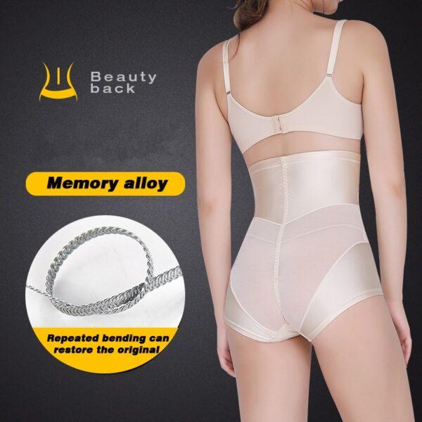 Women High Waist Shaping Panties Tummy Control Body Shaper Slimming Underwear Butt Lifter Seamless Panty Shaper 2