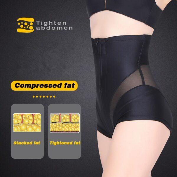 Women High Waist Shaping Panties Tummy Control Body Shaper Slimming Underwear Butt Lifter Seamless Panty Shaper 3