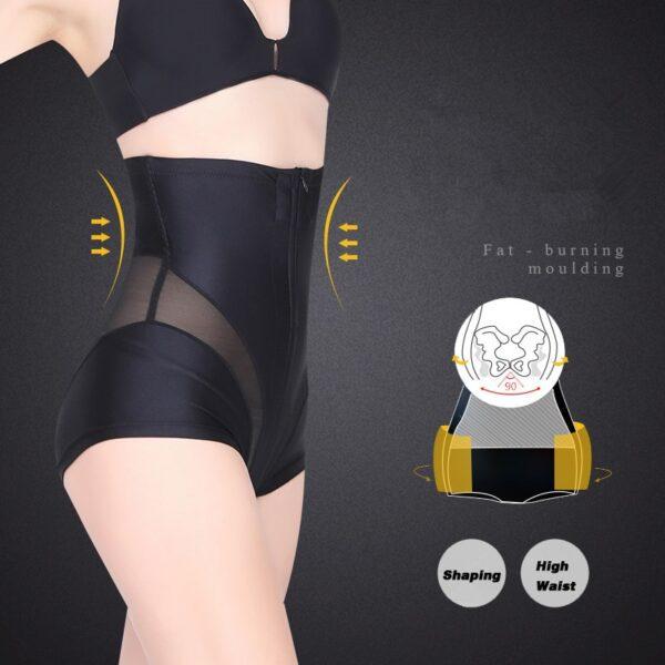Women High Waist Shaping Panties Tummy Control Body Shaper Slimming Underwear Butt Lifter Seamless Panty Shaper 4
