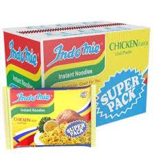 indomie chicken super pack carton