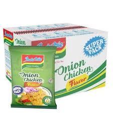 indomie onion chicken super pack carton