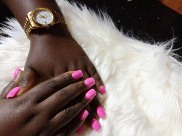 acrylic nails simple