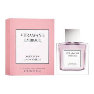 perfume embrace rose buds vanilla vera wang edt 30 ml