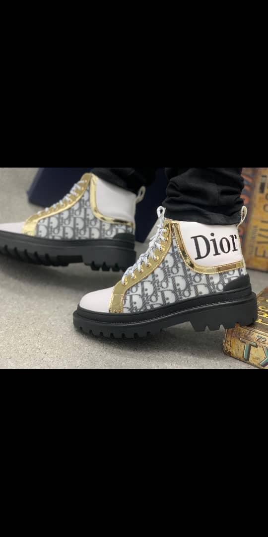 Dior combat boot