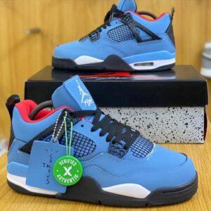 Nike Jordan 4 Retro blue