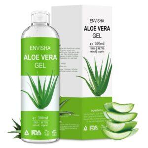 Envisha 100 Pure Natural Aloe Vera Gel 300g
