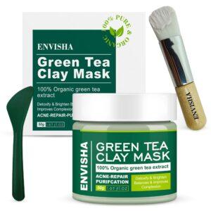 Envisha Green Tea Clay Mask