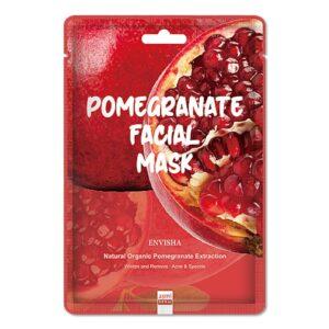 Envisha Pomegranate Facial Sheet Mask