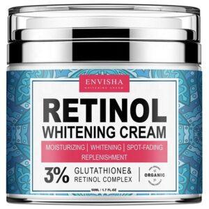 Envisha Retinol Whitening Face Cream 3 Glutathione Retinol Complex 50ml