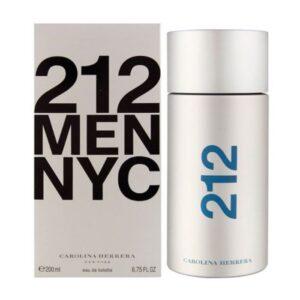 carolina herrera 212 nyc men edt 200ml perfume