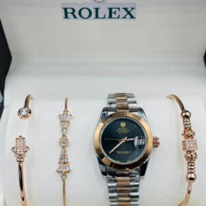 Rolex with bracelet
