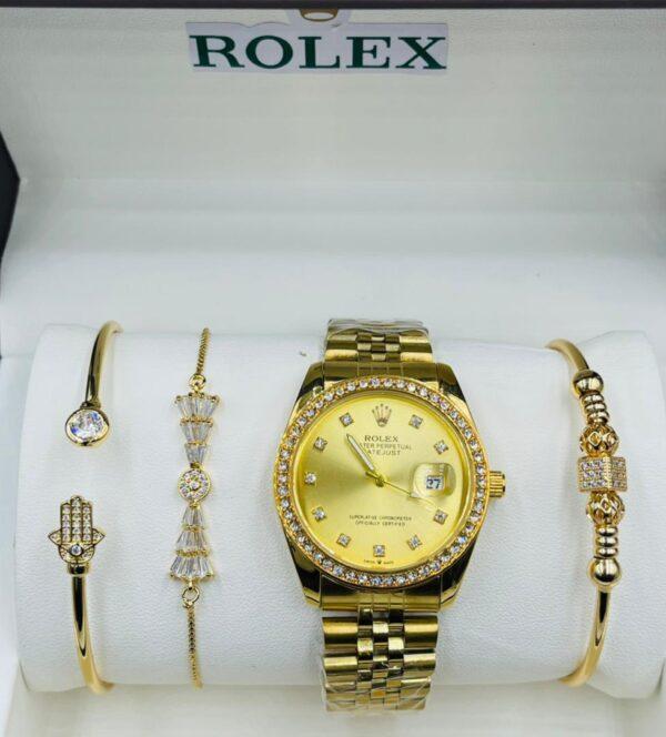 Rolex with bracelet 4