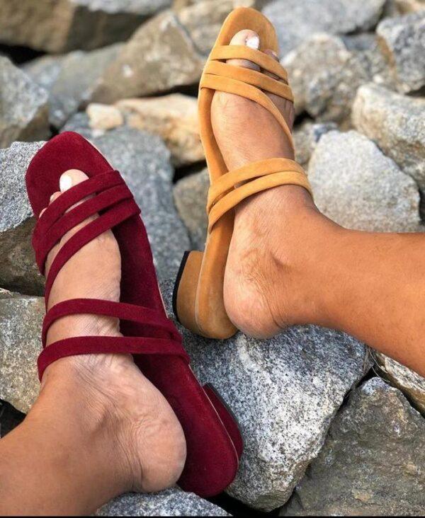 Suwed low heel 7k