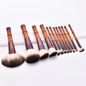 high quality 12pieces big head makeup brush set
