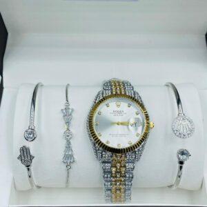 rolex with bracelet 8