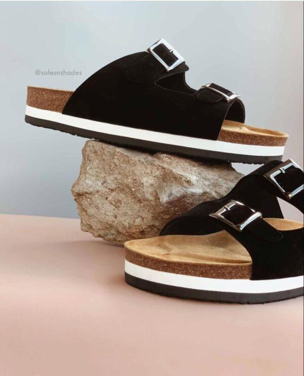 suwed leather double sole 9k