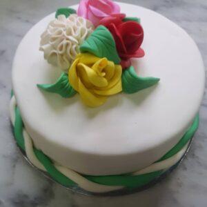 Fundant cake for 12k