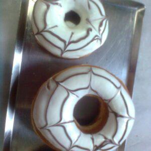 Mini chocolate doughnut